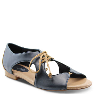 Top End Pride Navy/Tan Womens Sandal