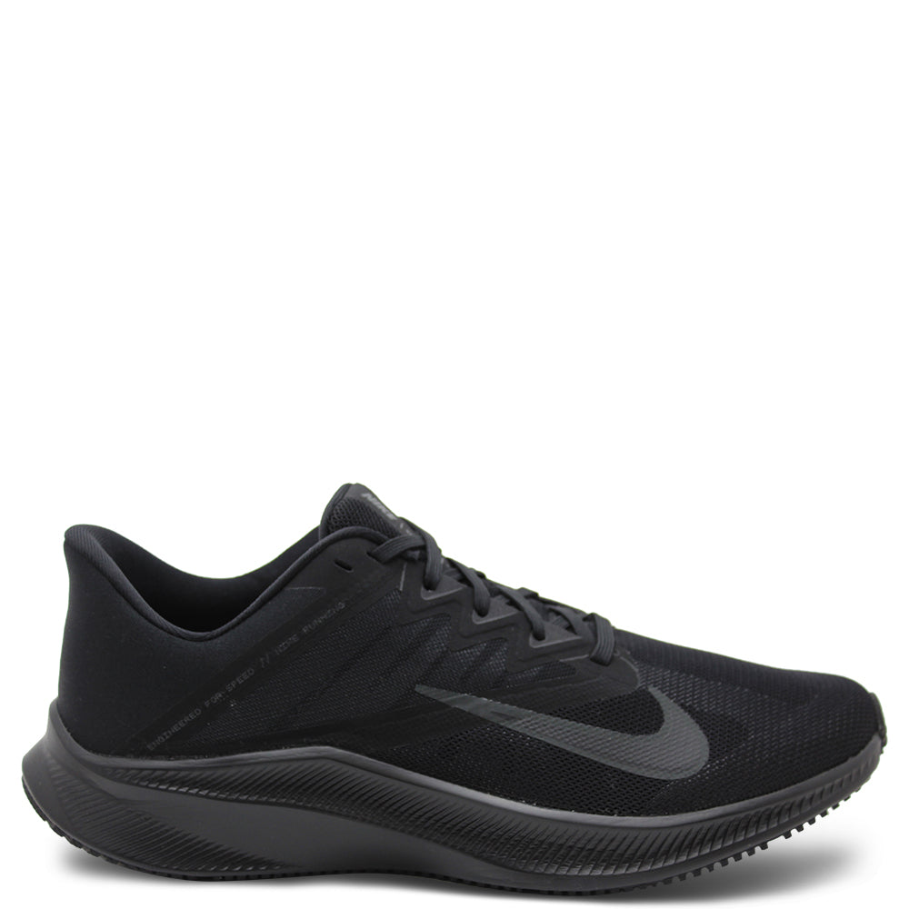 Nike Quest Black Grey Mens Runner