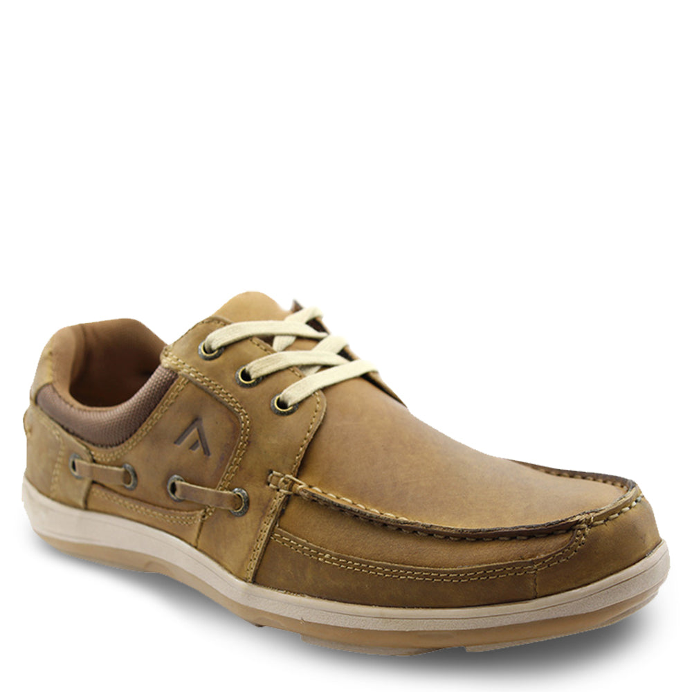 Colorado Spinnaker Brown Mens boat shoes