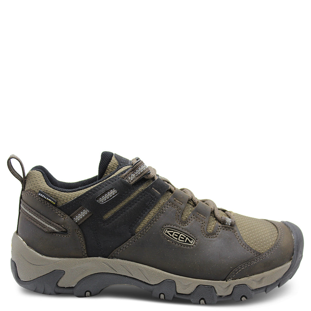 Keens Steen wp mens brindle shoe