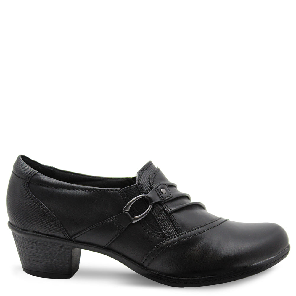 Planet Taplow Black Womens Heel