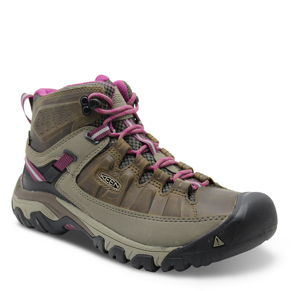 Keen Targhee Mid Womens Brown/Boysenberry Hiker