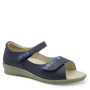 Klouds Tracy Navy Womens Sandal