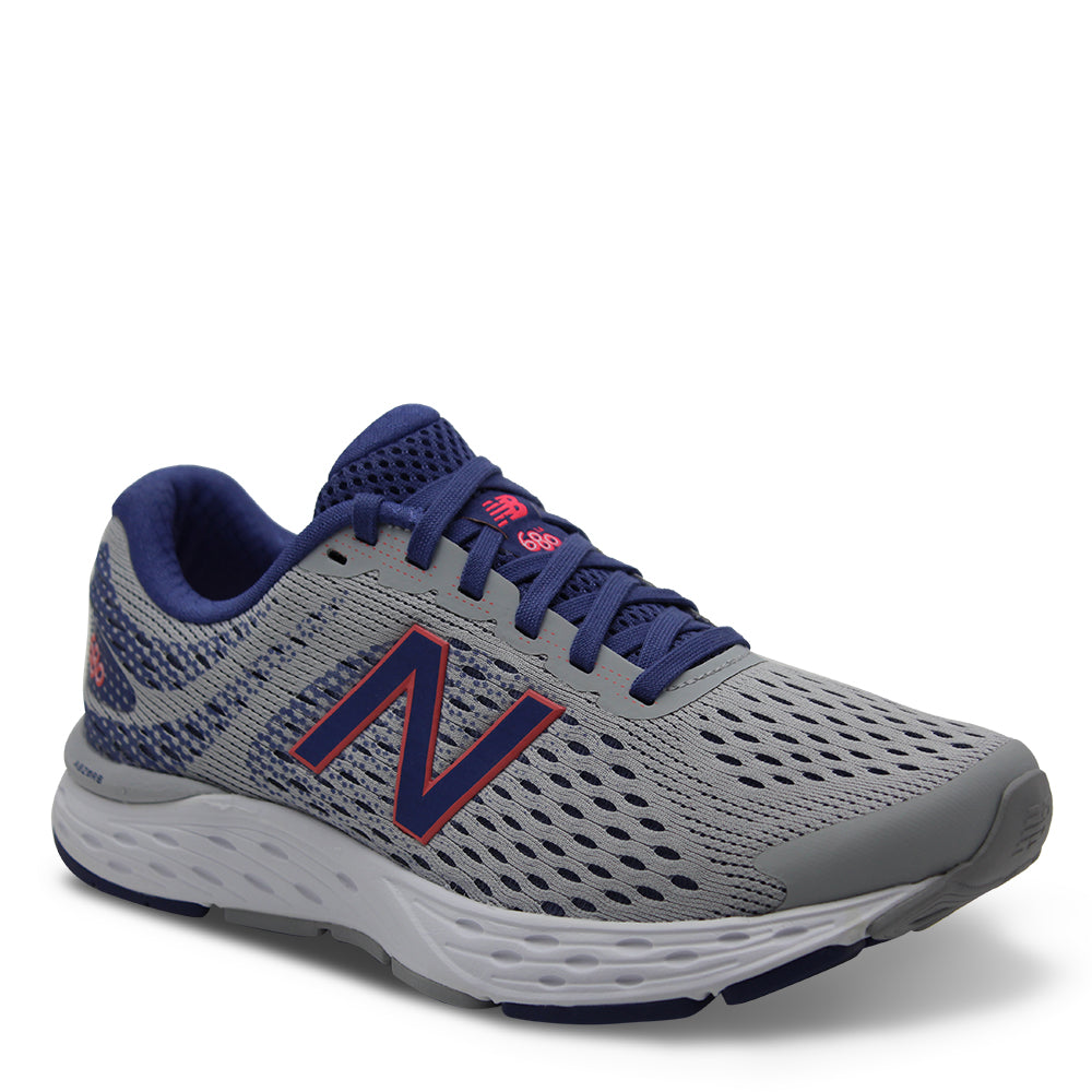 New Balance W680 Womens Grey