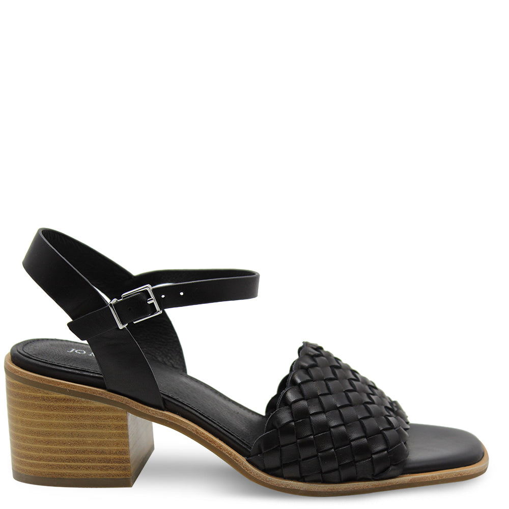 Jo Mercer Whippet Black Womens Sandal