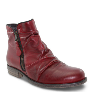 Eos Willet Red Womens Flat Boot