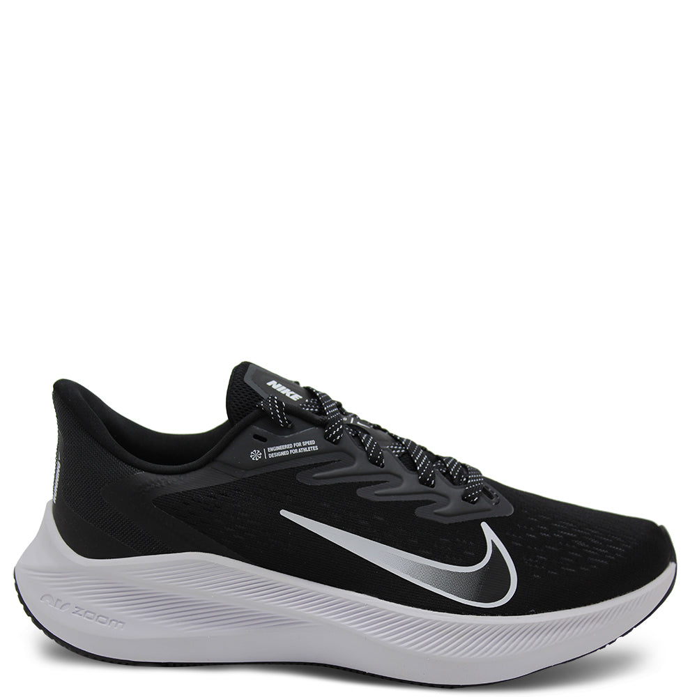 Nike Winflo 7 Black/White Womens Runner