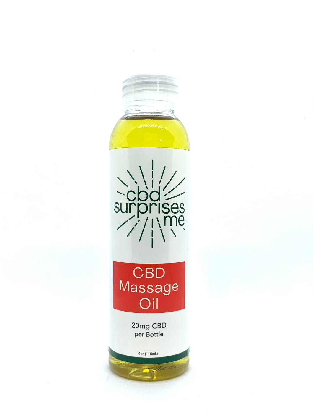 CBD Massage Oil - CBD Surprises Me