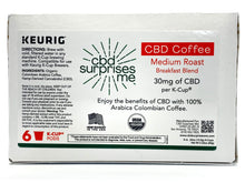 Load image into Gallery viewer, CBD Coffee K-cups - CBD Surprises Me