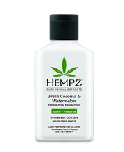 Load image into Gallery viewer, Hempz Herbal Whipped Body Creme travel size