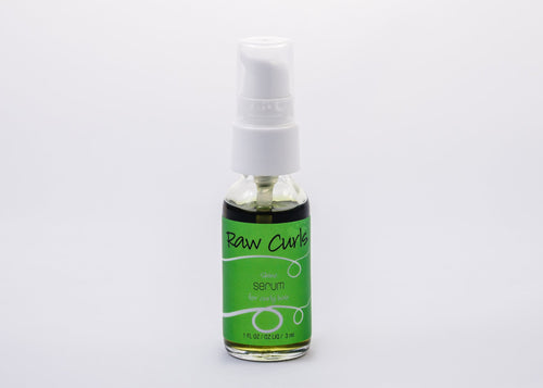 Raw Curls Shine Serum 1oz