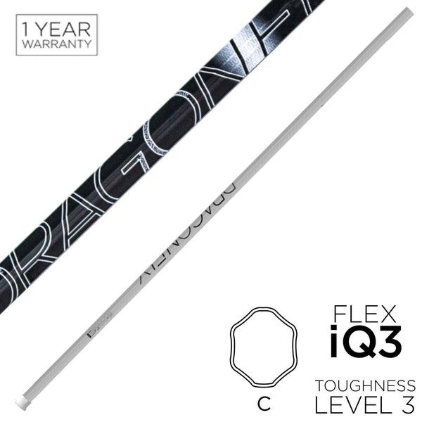 Epoch Dragonfly Elite Defense Shaft C60iQ3 White - Lax Kong USA