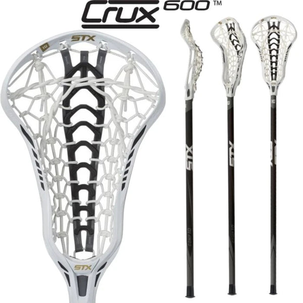 STX Crux 600 Head/ Launch Pocket / Comp 10 Complete - Lax Kong USA