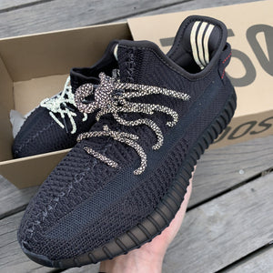 YZY 350 Static Black (Non Reflective)