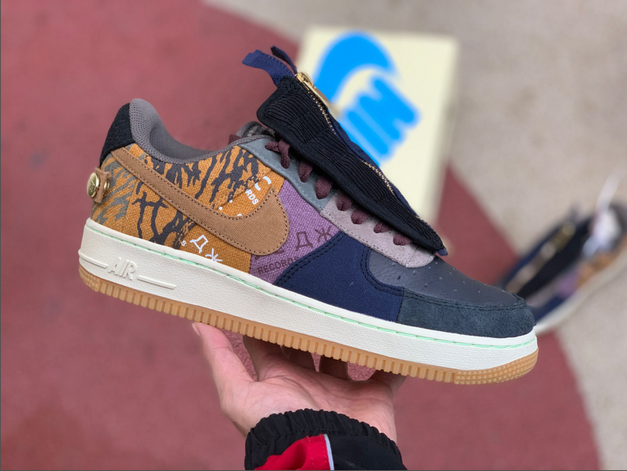 Nike Air Force 1 Low Travis Scott Cactus Jack