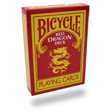 Load image into Gallery viewer, Bicycle Red Dragon Deck