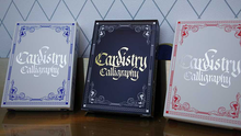 Load image into Gallery viewer, Cardistry x Calligraphy Golden Foil Limited Edition Playing Cards