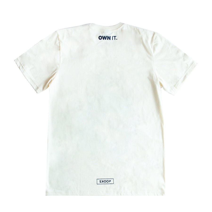 Insecurities Cream Shirt - Skoop Kommunity International