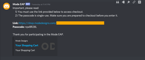mode eap screenshot