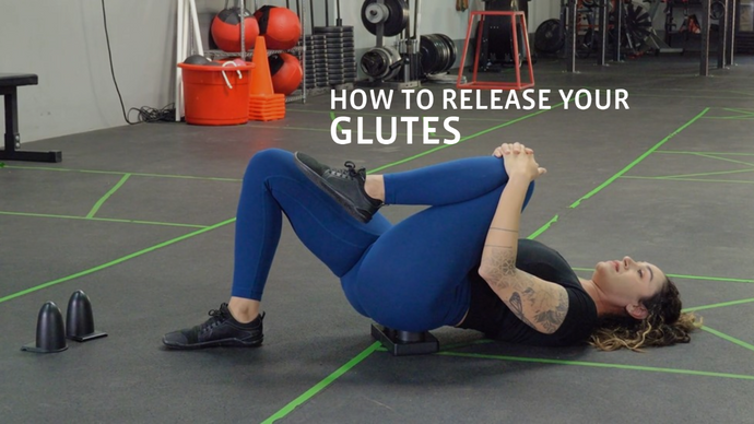 How to Release Your Glutes Using MFLEX Myofascial Release Tool
