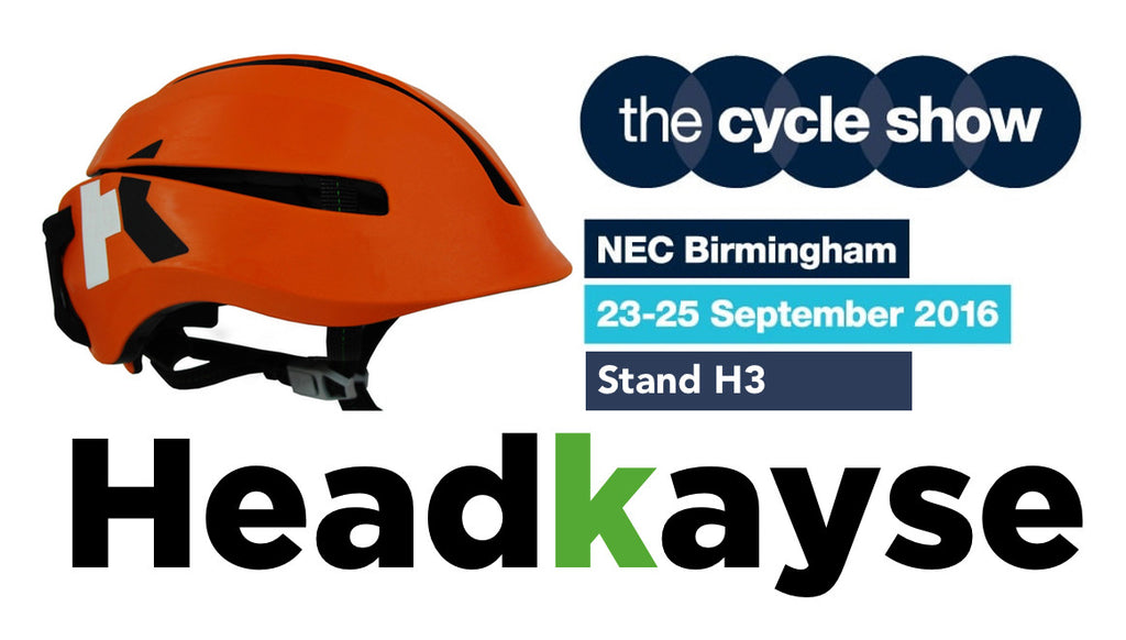 Headkayse at The Cycle Show NEC 23-25 September