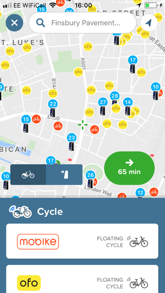Consolidation - Bike sharing