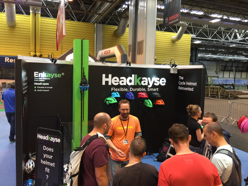 Headkayse at the Cycle Show