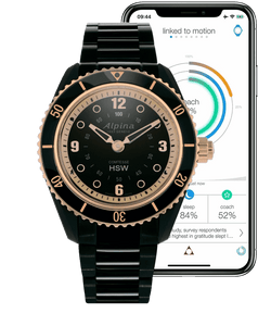 Alpina Horological Smartwatch AL-281BY3V4B