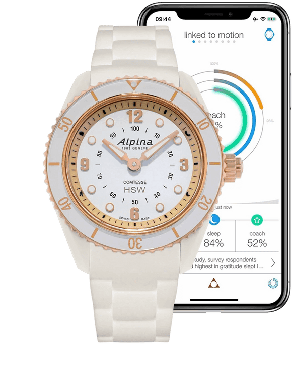 Alpina Horological Smartwatch AL-281WY3V4