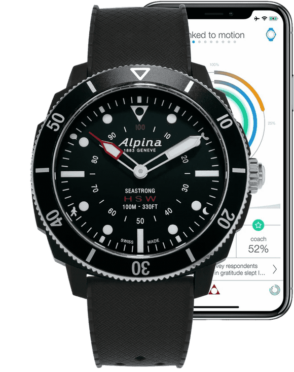 Alpina Horological Smartwatch AL-282LBB4V6