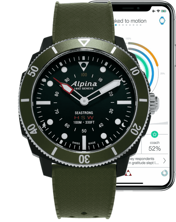 Alpina Horological Smartwatch AL-282LBGR4V6
