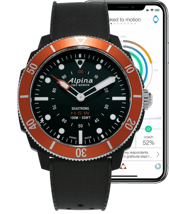 Alpina Horological Smartwatch AL-282LBO4V6