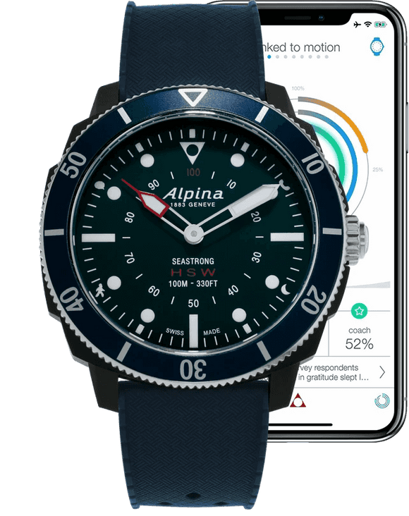 Alpina Horological Smartwatch AL-282LNN4V6
