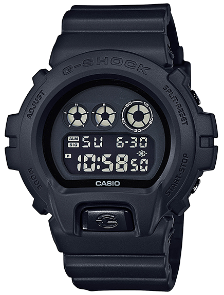 Casio G-Shock Classic 3-Eye DW-6900BB-1ACR