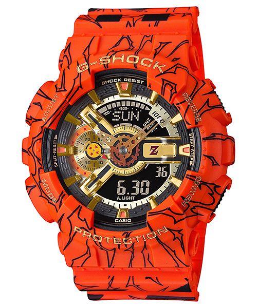 Casio G-Shock ANA-DIGI 3D Dragon Ball
