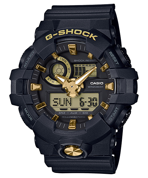 Casio G-Shock ANA-DIGI 3D Super Illuminator GA-710B-1A9CR