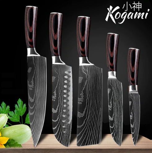 Kogami Steel Kitchen Knives (50% OFF)