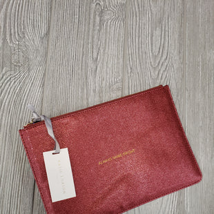 MAKEUP BAG BY KATIE LOXTON - RED.