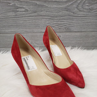 HIGH HEEL SHOES BY MARC FISHER SIZE 8.5 - RED.