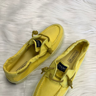 Primary Photo - BRAND: SPERRY STYLE: SHOES FLATS COLOR: YELLOW SIZE: 7.5 SKU: 322-322028-1741