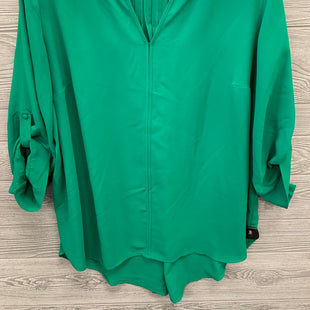 LONG SLEEVE SHIRT BY 41 HAWTHORN SIZE 3X - GREEN .