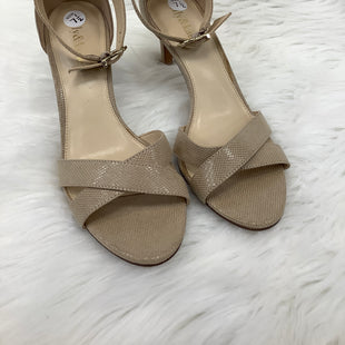 LOW HEELS SIZE 7.5 BY KELLY & KATIE - CREAM .