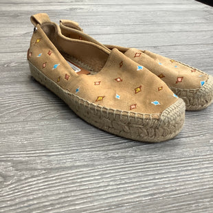 FLAT SHOES SIZE 6 BY RAG AND BONE - TAN.
