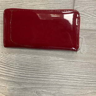WALLET SIZE M - RED.