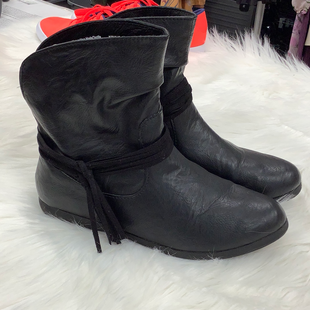 Ankle boot size 7 - BLACK.