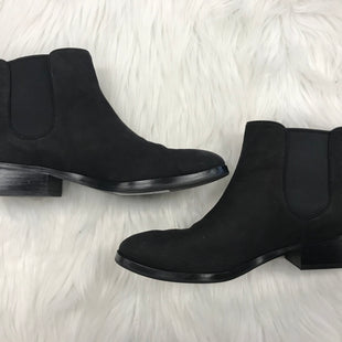 ANKLE BOOTS SIZE 9 BY COLE-HAAN - BLACK.