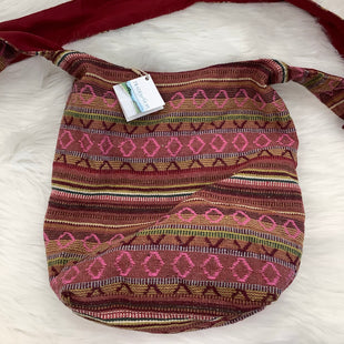 HANDBAG SIZE M BY TRADES OF HOPE - MAROON.