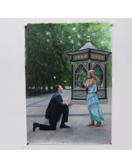 Proposal Oil Painting