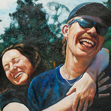 Couples oil paintings