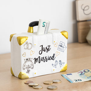 Money box Just Married